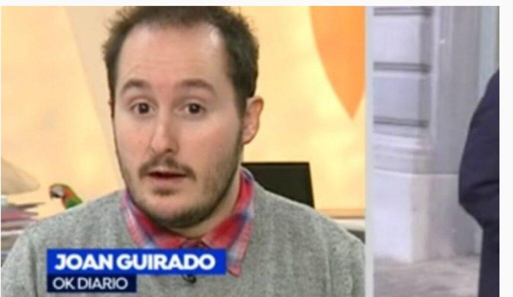 El periodista Joan Guirado