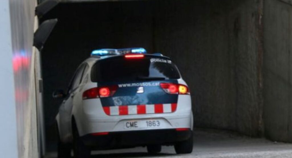 Conductor detingut a les Borges Blanques