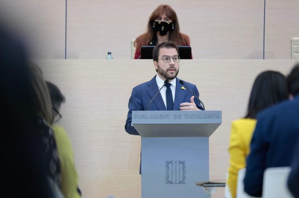 Pere Aragonès, d'ERC