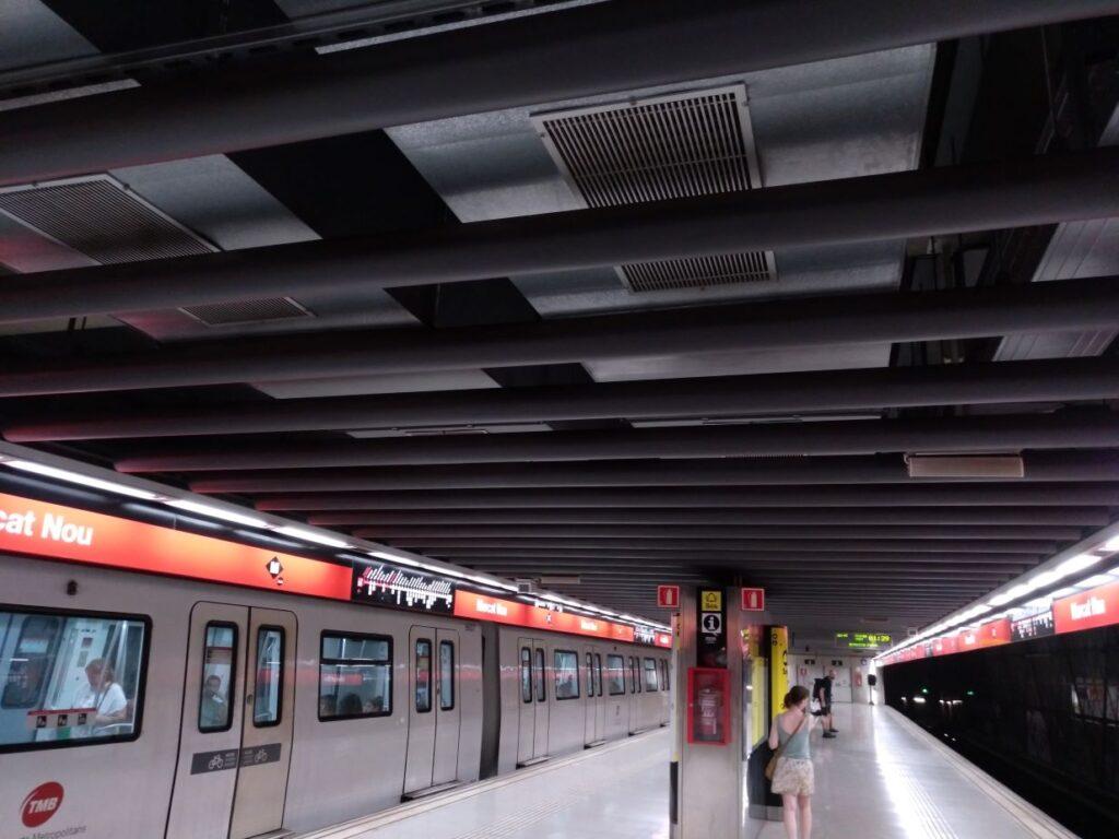 Agressió al metro de Barcelona