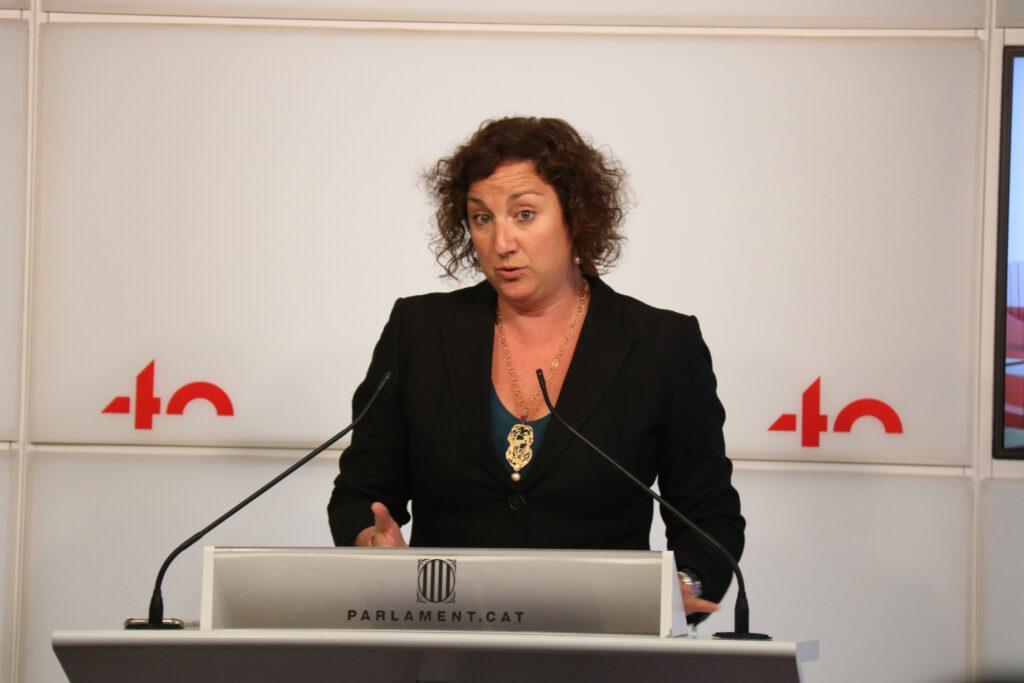 Alicia Romero, del PSC