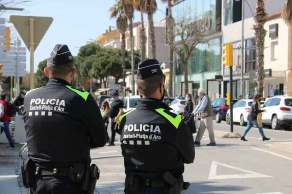 La Policia Local de Platja d'Aro deté bandes de lladres