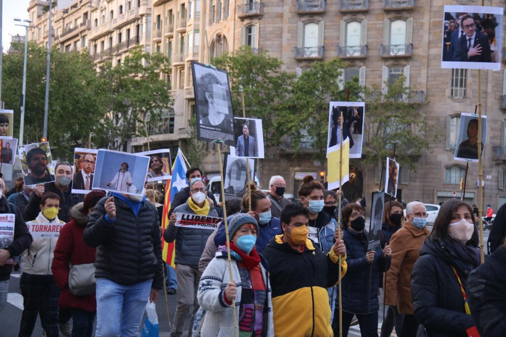 Manifestació per l'amnistia