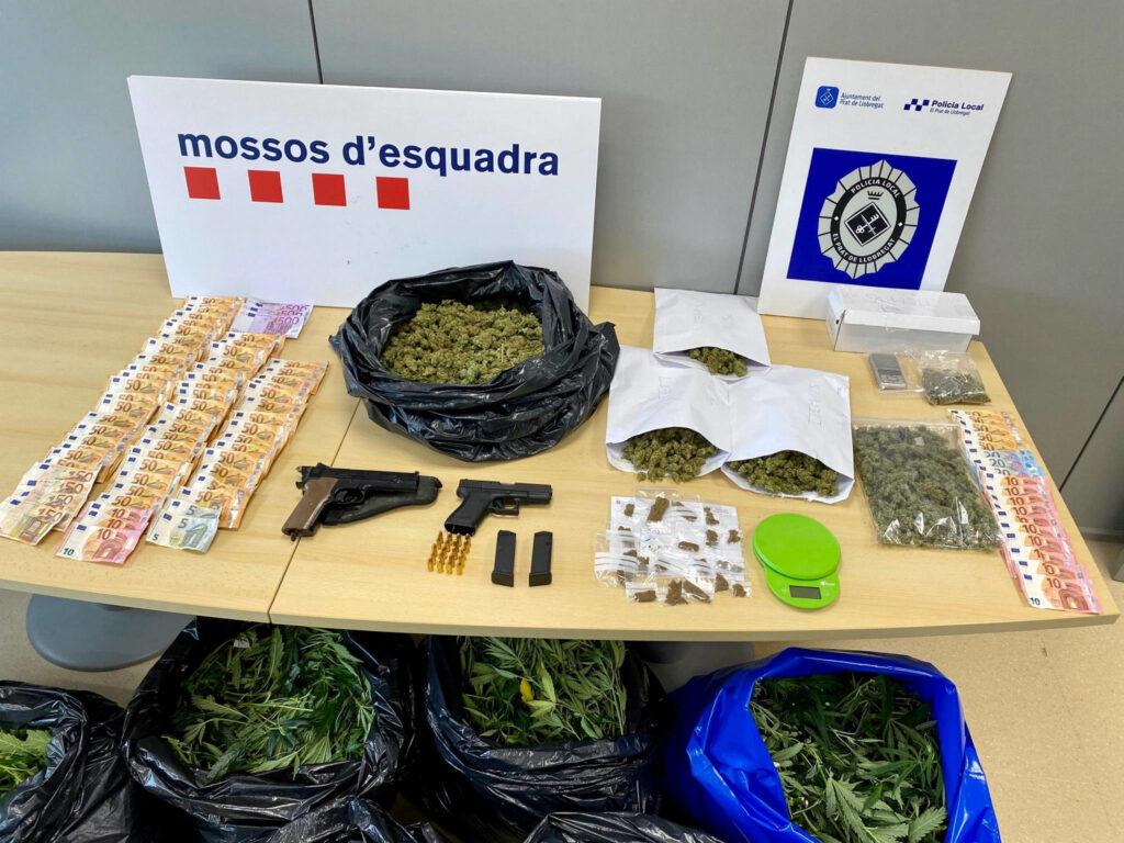 Marihuana al Prat de Llobregat