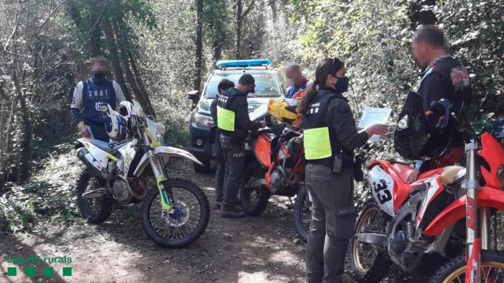 Sancions per circular amb moto