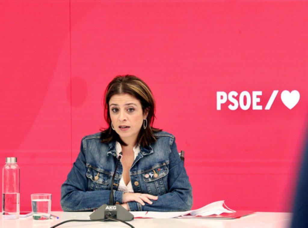 Adriana Lastra, del PSOE