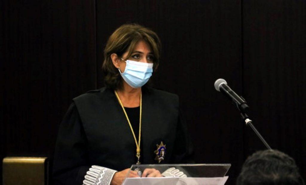 Dolores Delgado, de la Fiscalia
