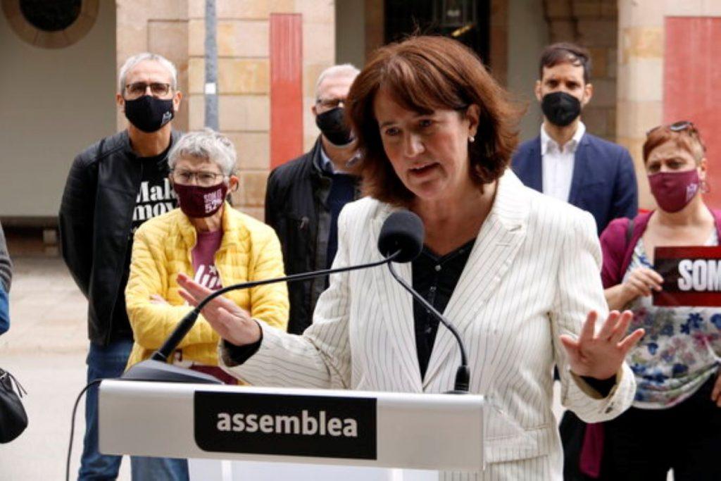 Elisenda Paluzie, presidenta de l'ANC