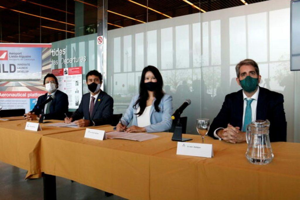 Important acord amb una empresa xinesa perquè l'aeroport de Lleida-Alguaire faci un salt endavant