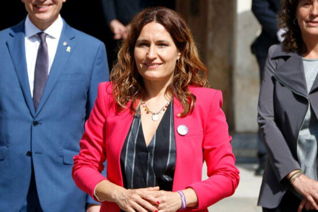 Laura Vilagrà titlla el govern enemic d'estadista