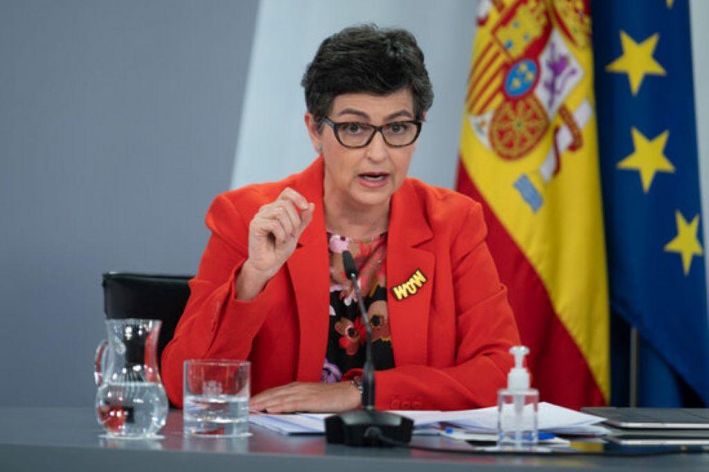 Arancha González Laya, Ministra d'Exteriors d'Espanya