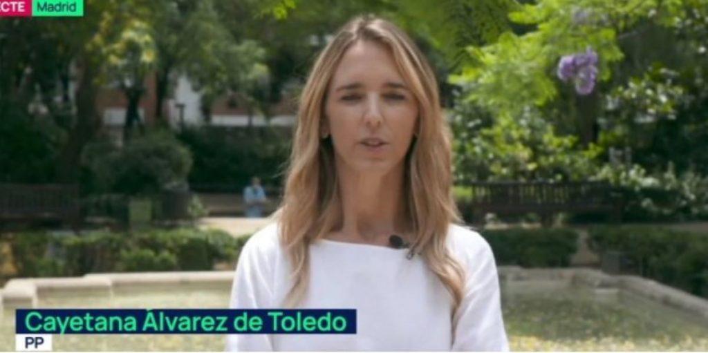 Cayetana Álvarez de Toledo, al Planta Baixa