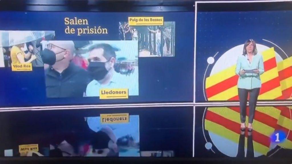 Crits de Viva España a Televisión Española