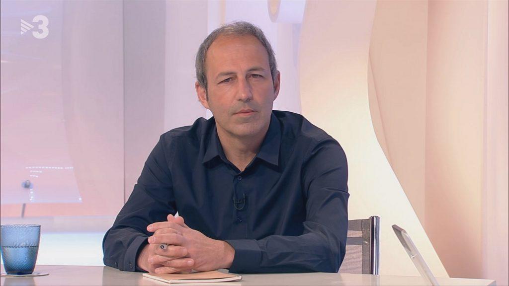 Genís Cormand, a TV3