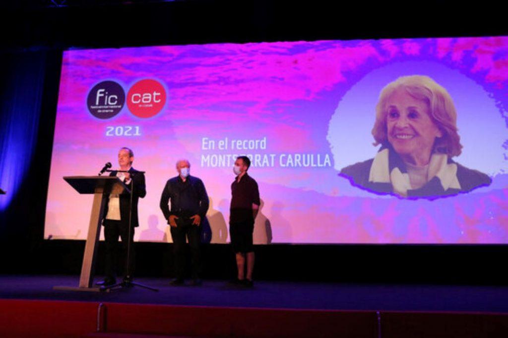Homenatge a Montserrat Carulla