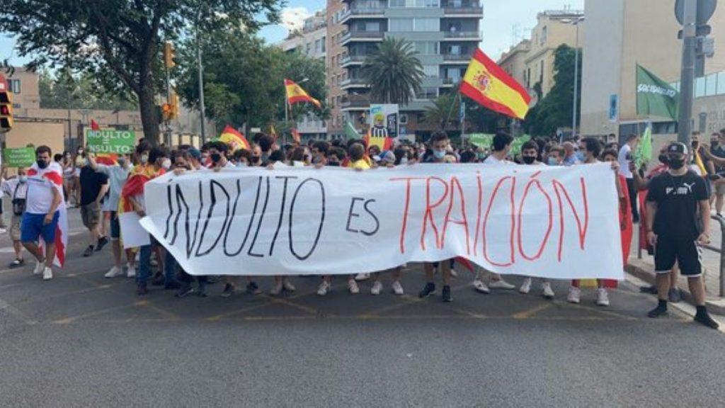 Ignacio Garriga s'anima amb els ultres de Plaza Artós i deixa anar una frase plena de violència
