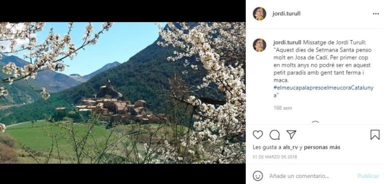 Instagram de Jordi Turull