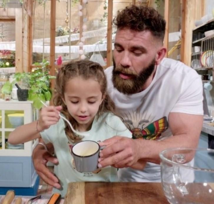 Marc Ribas i la seva filla