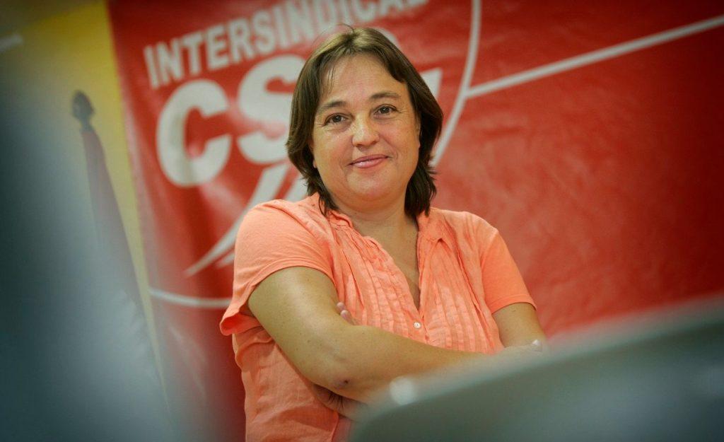 Mor als 57 anys Isabel Pallarès, exsecretària general de la Intersindical-CSC