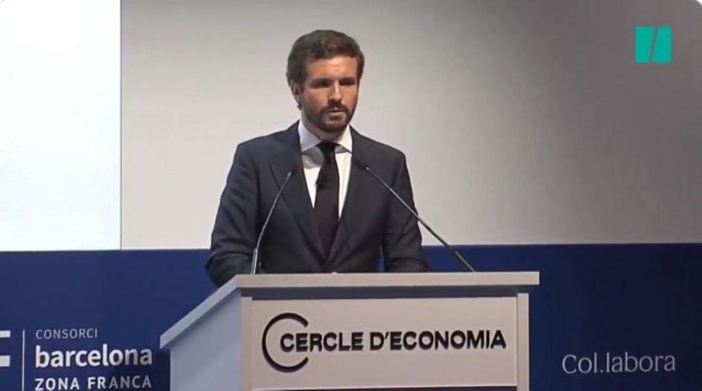 Pablo Casado parla de ser català