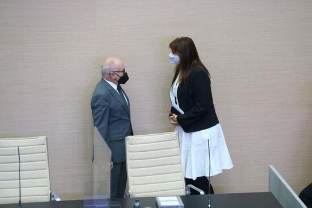 Xavier Muro amb Laura Borràs