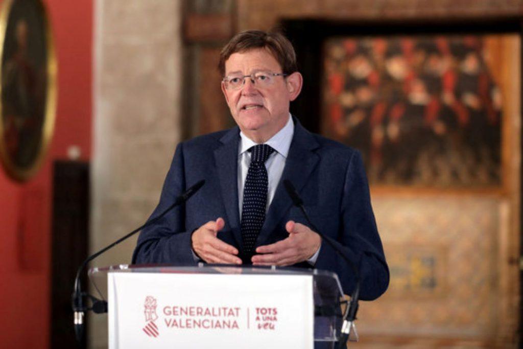 Ximo Puig, del PSOE