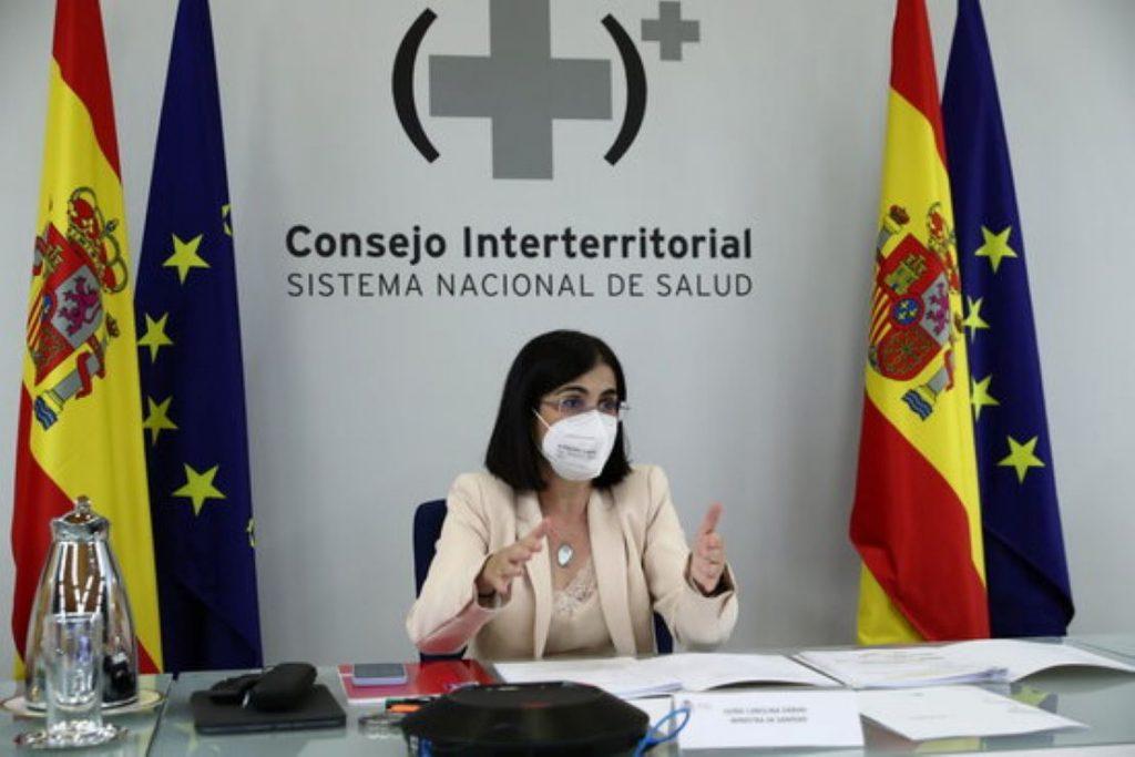 Carolina Darias, Ministra de Sanitat