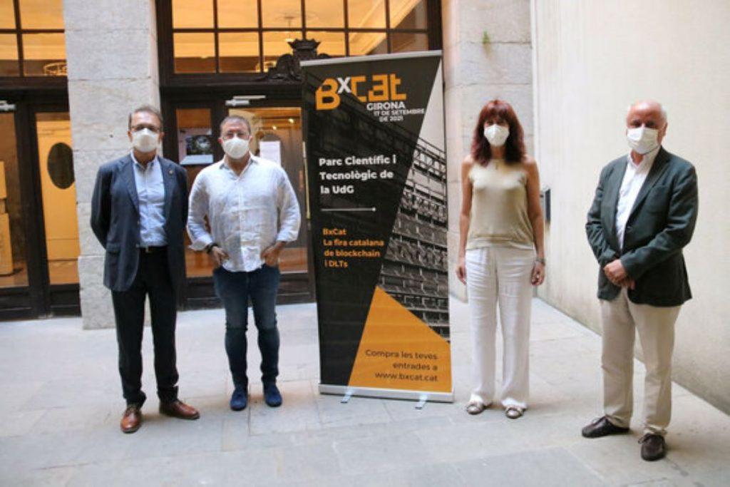 Cop d'efecte de Girona amb el blockchain