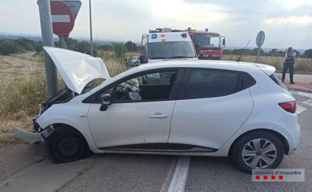 Els Mossos enxampen un conductor que la fa grossa a Palau-saverdera
