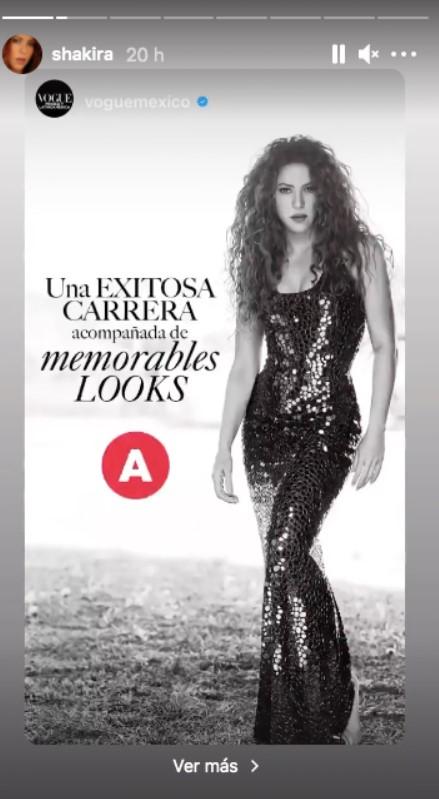 Encara més Shakira a Vogue