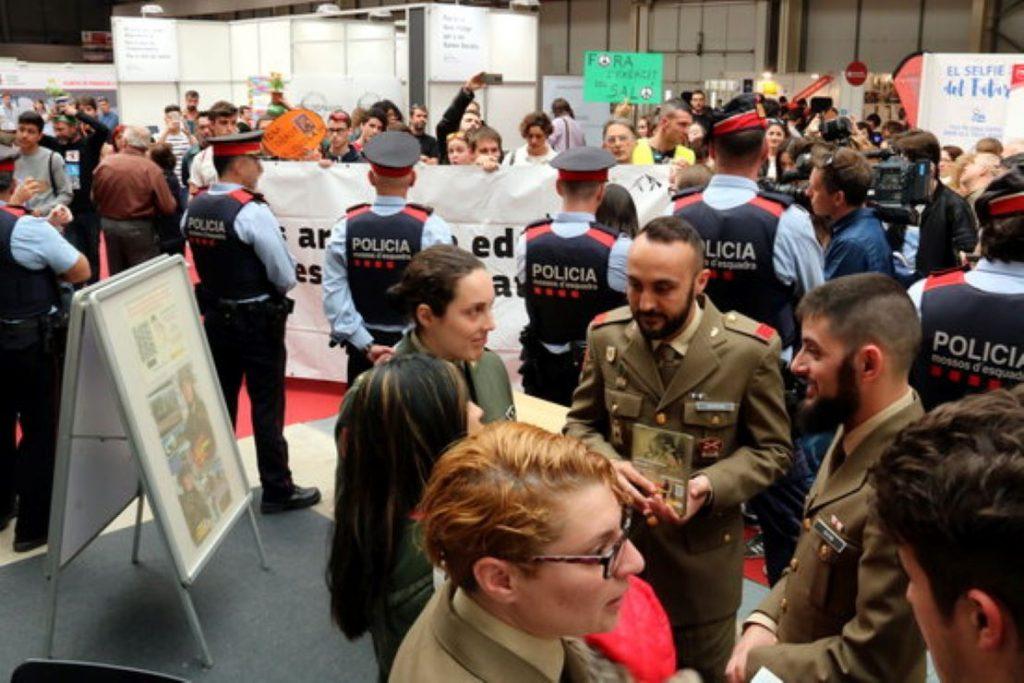 Fira de Lleida accepta els militars espanyols