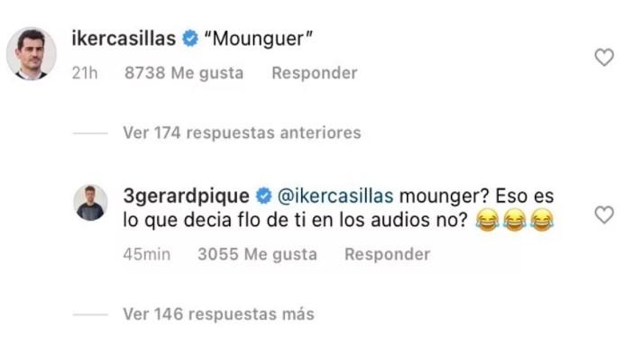 Iker Casillas i Gerard Piqué
