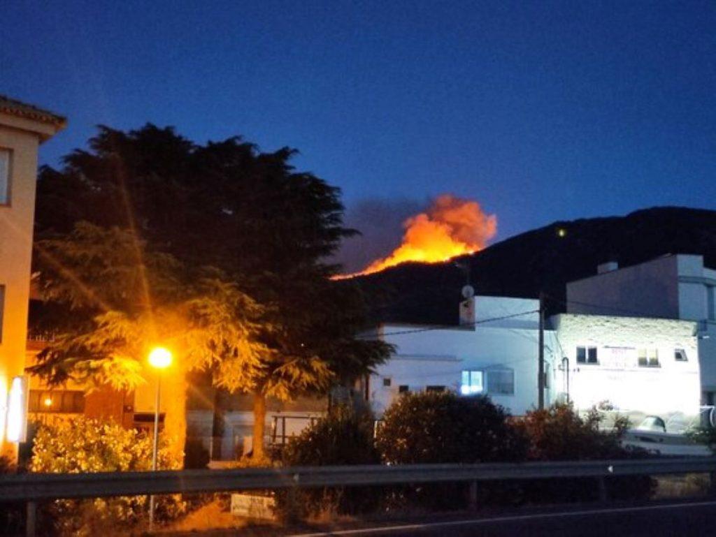 Incendi a Llançà
