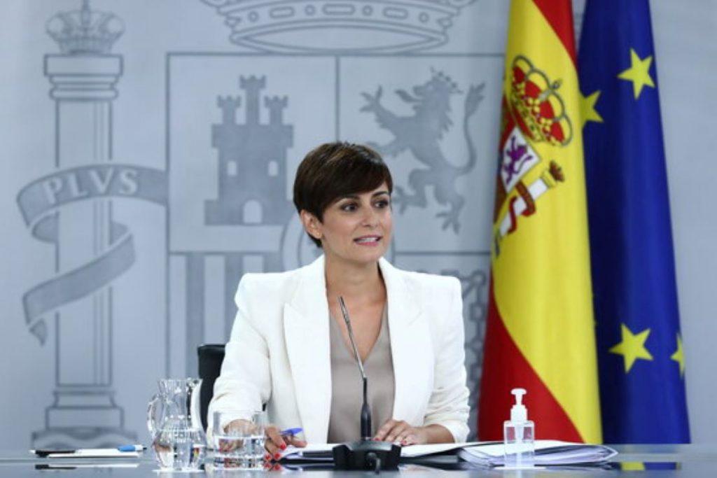 Isabel Rodríguez, La indirecta del Gobierno de España vinculant l'independentisme amb els delictes d'odi
