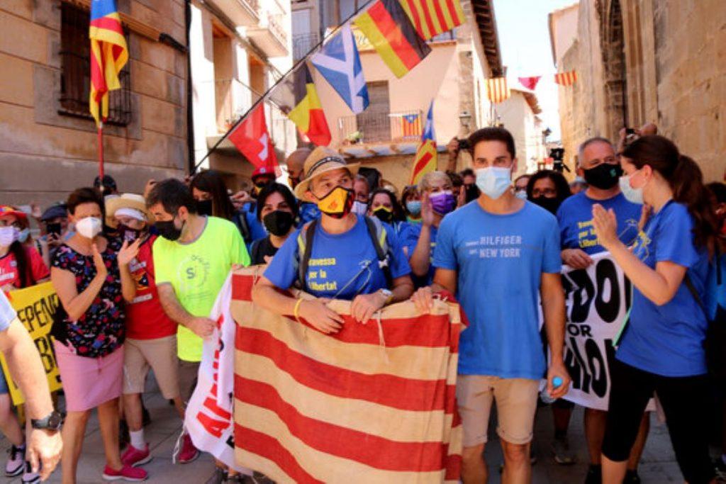 Jordi Turull finalitza la Travessa per la Llibertat amb un missatge emocionant