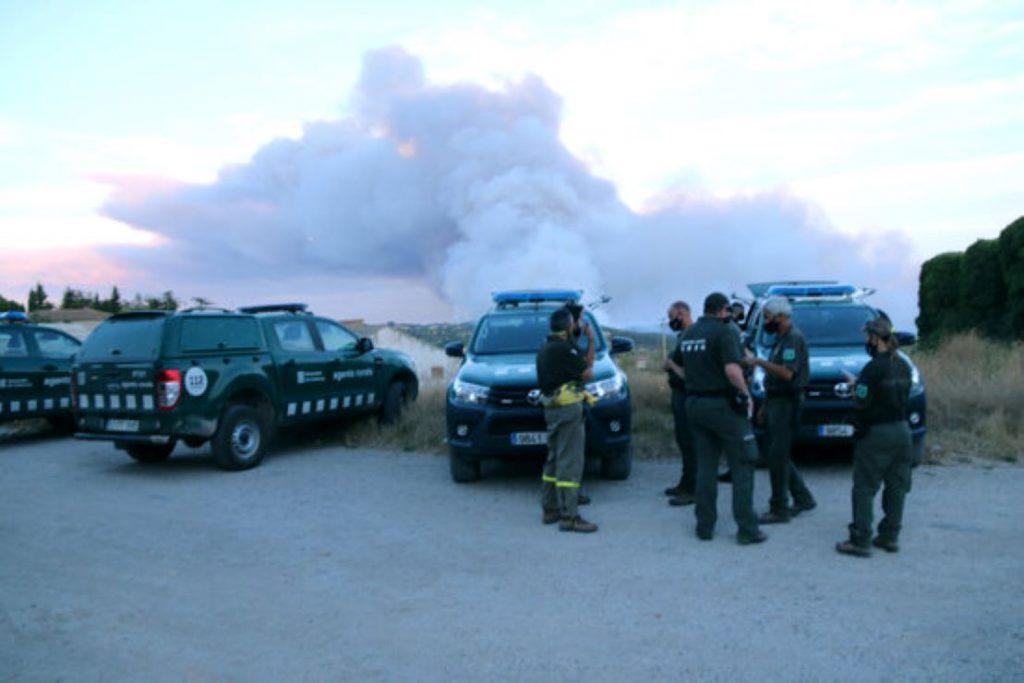 La crida d'Interior a la ciutadania davant la onada d'incendis forestals
