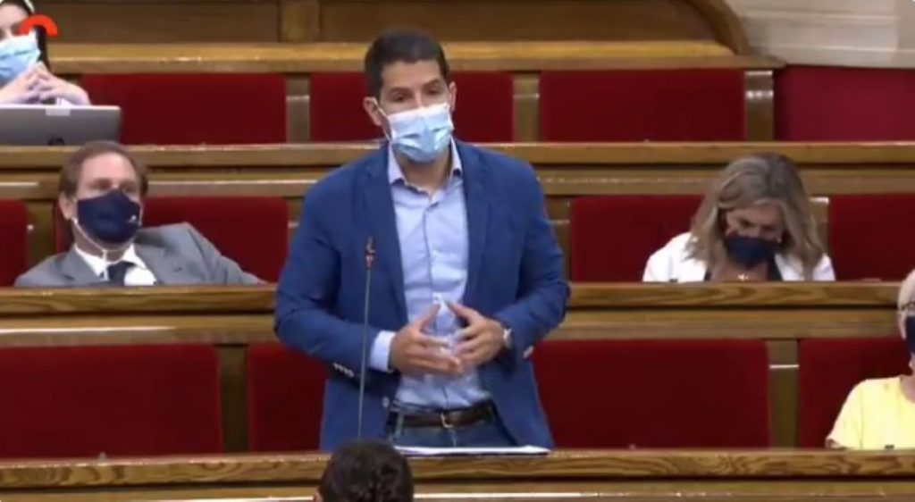 Nacho Martín Blanco al Parlament