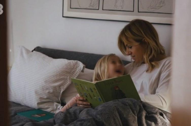 Núria Solé i la seva filla