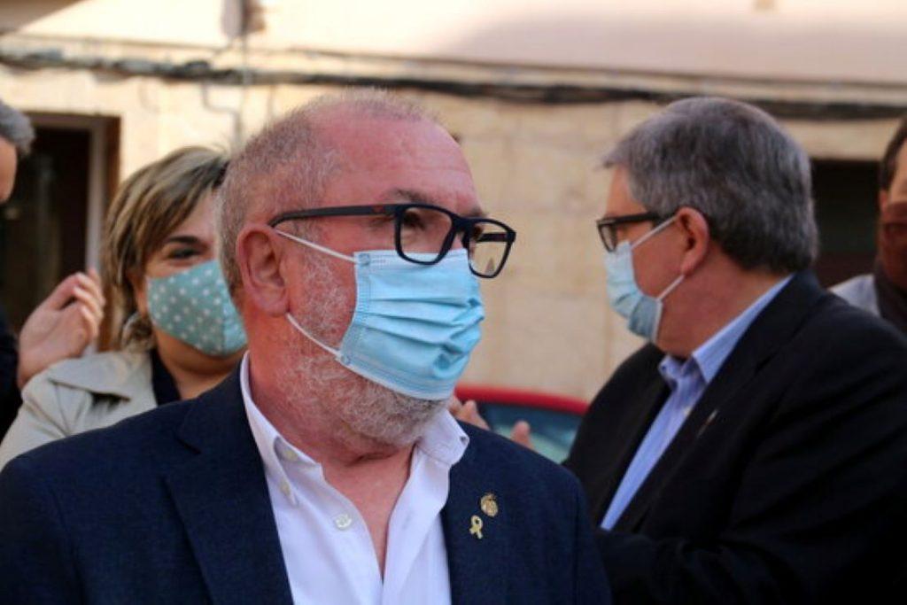 Paco Gas, alcalde de Roquetes