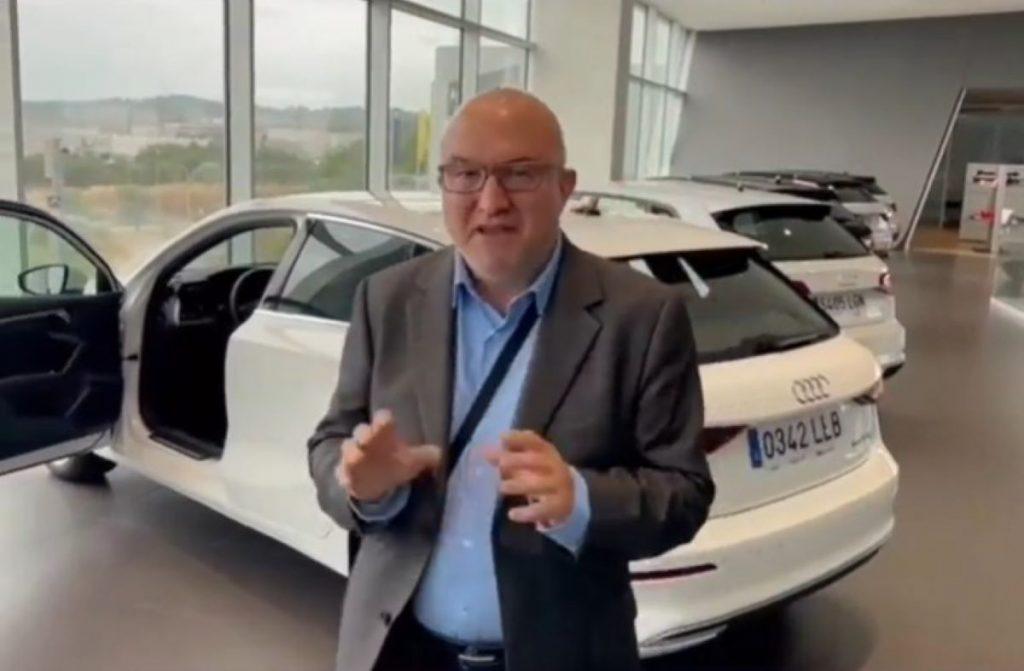 Sergi Mas anuncia l'Audi