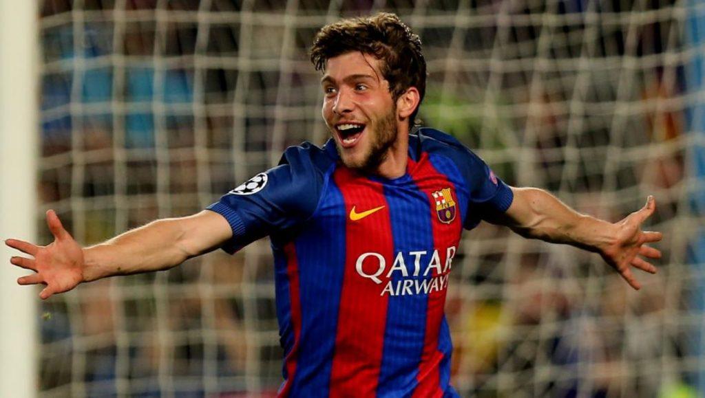 Sergi Roberto, Barça