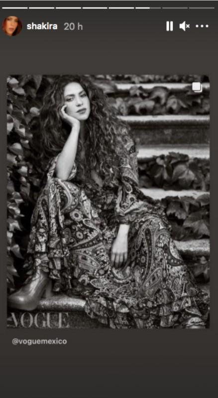 Shakira a Vogue