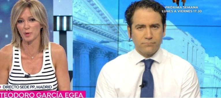 Susanna Griso y Teodoro García Egea