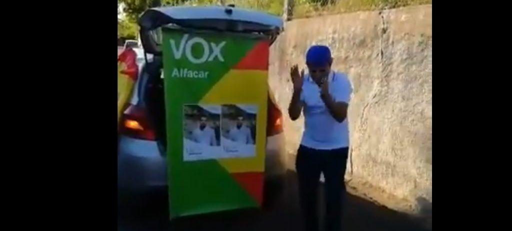 Candidat de VOX a Alfacar