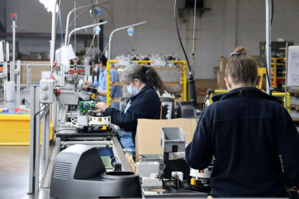 Creixement important de la producció industrial a Catalunya