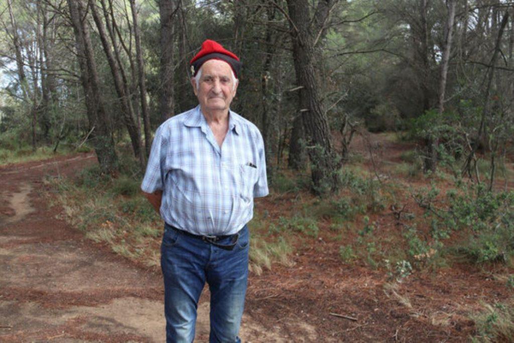 Eugeni Darnaculleta, pastor gironí de 84 anys