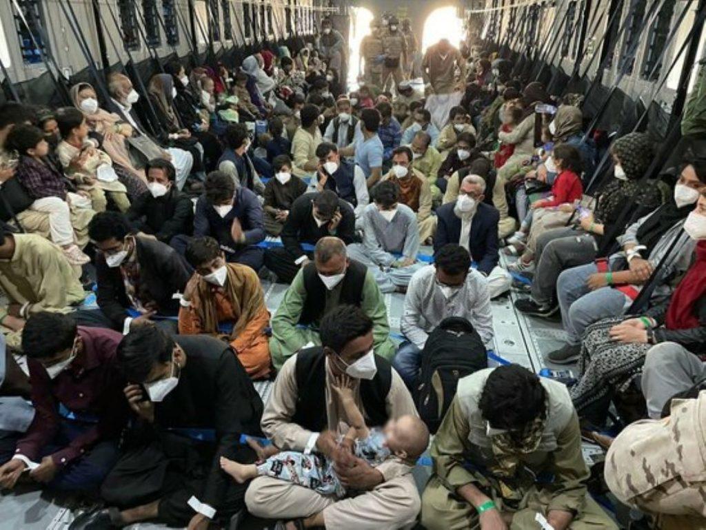 Evacuació a Afganistan