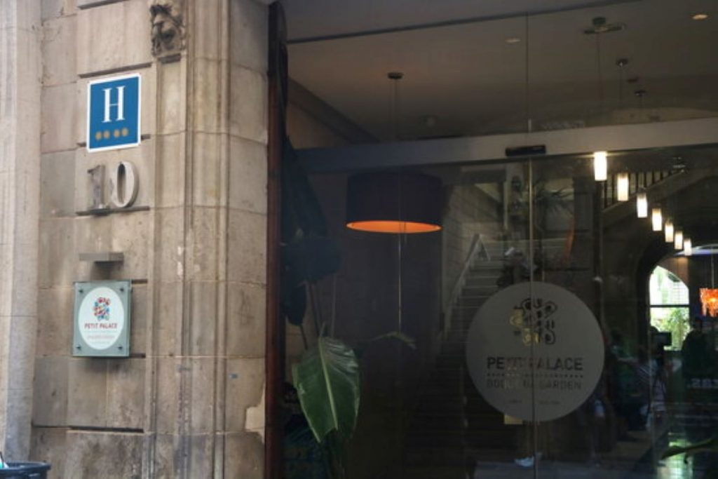 Ja se saben les causes de la forta explosió a un hotel de Barcelona