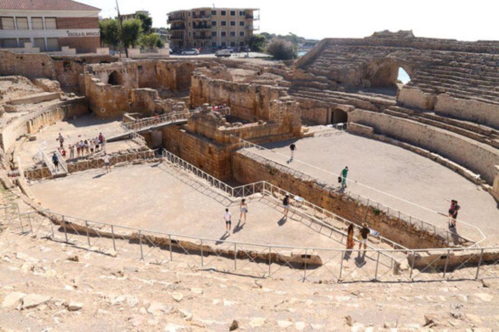 Novetats a l'amfiteatre romà de Tarragona