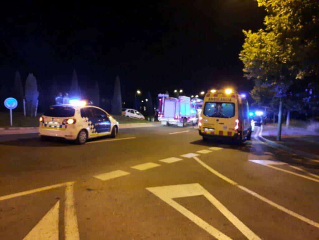 Un conductor borratxo la fa grossa a Reus